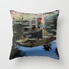 Reflections of you Throw Pillow