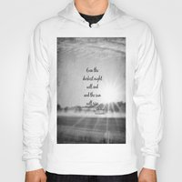 les miserables Hoodies featuring Les Miserables Quote Victor Hugo by KimberosePhotography