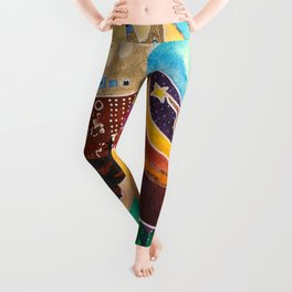 Fantastic Moose - Animal - by LiliFlore Leggings