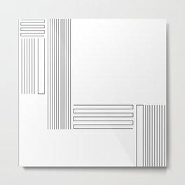 Closure Line Metal Print