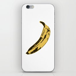 Banana Pop Art for Prints, Posters, Tshirts, Wall Art, Men, Women, Youth iPhone Skin