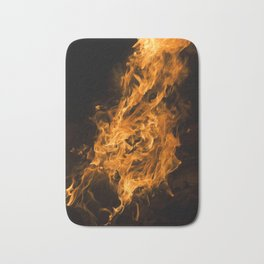 On Fire Bath Mat