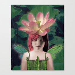 Lotus Dreamer Canvas Print