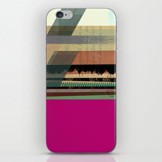 Pink Block iPhone & iPod Skin