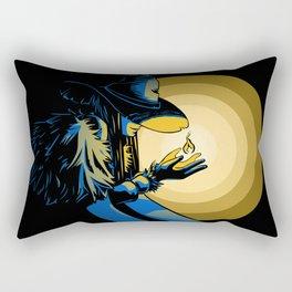 The fire witch Rectangular Pillow