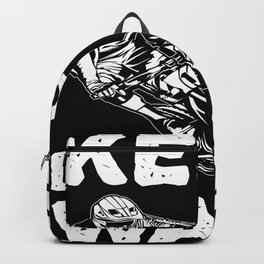 No Mercy For The Calf Cyclist MTB Motif Backpack
