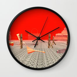 Squared: Russian Modernism Wall Clock