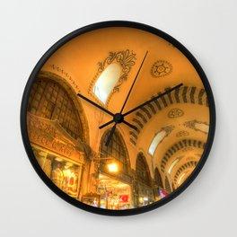 The Spice Bazaar Istanbul Wall Clock