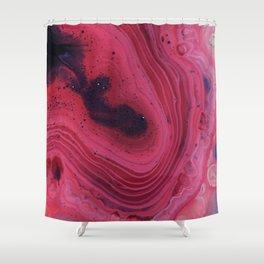 Cosmic Swirl Shower Curtain