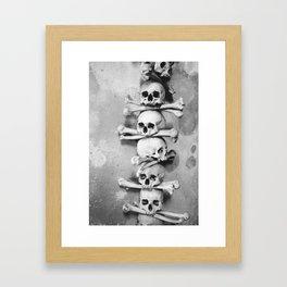 Sedlec Ossuary, Kutna Hora, Czech Republic. Framed Art Print