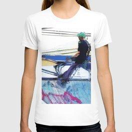 Hanging On  -  Stunt Scooter Artwork T-shirt