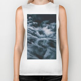 Misty Waves (Color) Biker Tank
