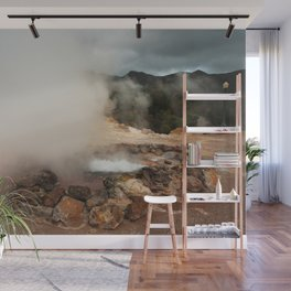Volcano in Azores Wall Mural