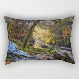 Autumn Fairy Glen Rectangular Pillow