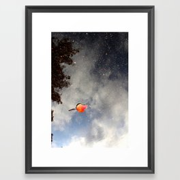 Fall sky Framed Art Print