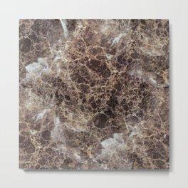Textures of Marble Metal Print