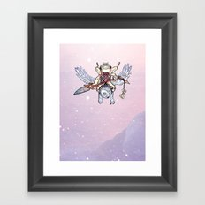Snow Troll Framed Art Print