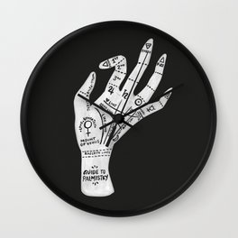 Palm Reading Wall Clock