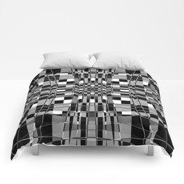 warped plaid. 2018. 5 Comforters