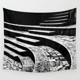 Stairs and curves Wall Tapestry