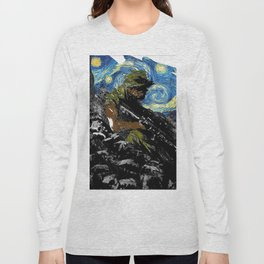 The Silent Soldier Long Sleeve T-shirt