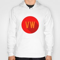 vw bus Hoodies featuring VW by Barbo's Art