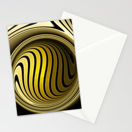 Turning into gold Stationery Cards