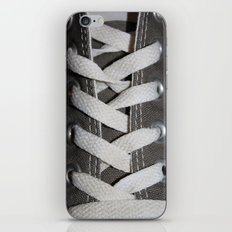 All Laced Up And Nowhere To Go iPhone Skin