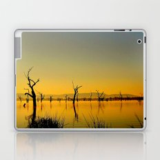 Scupltures in the Lake Laptop & iPad Skin