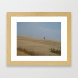 The North Wind Doth Blow Framed Art Print