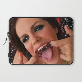 Space Smile Laptop Sleeve