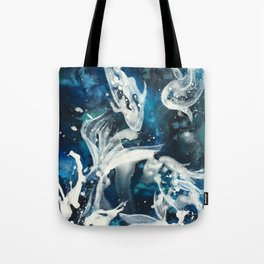 School of Celestial Guardians Tote Bag