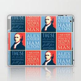Alexander Hamilton Quotes Laptop & iPad Skin