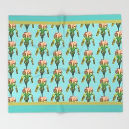 tropicana Throw Blanket