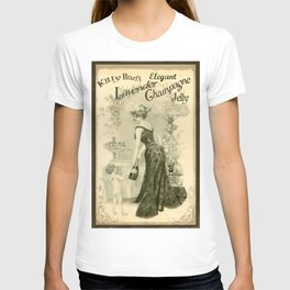 Kitty Pearl's Elegant Lavender Champagne Jelly T-shirt