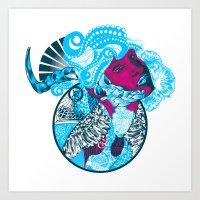 Nature Amalgum Art Print