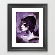 Lilas Framed Art Print