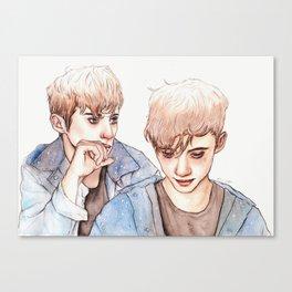 TROYE Canvas Print