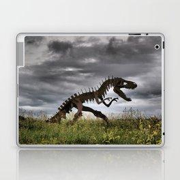 Steel T-Rex Laptop & iPad Skin