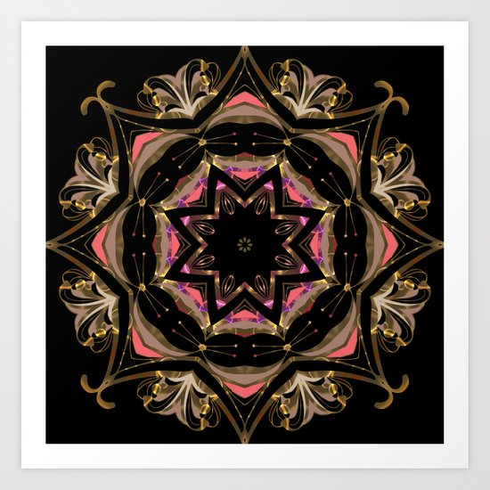 Southern star . Art Print