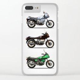 The R100 Trio Clear iPhone Case