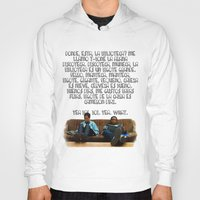 rap Hoodies featuring 101 Rap by Marianna