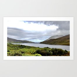 Fjord Art Print