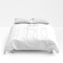 Wagashi line Comforters