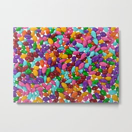 Candy Covered Sunflower Seeds Metal Print