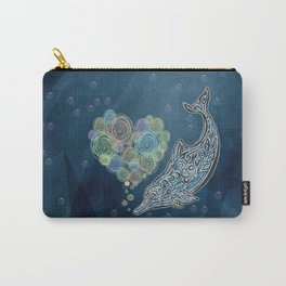 LOVE TAIWAN PINK DOLPHIN TATTOO Carry-All Pouch