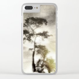 Deadly silence... Clear iPhone Case