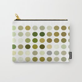 Pale Yellow Poinsettia 1 Dots Carry-All Pouch