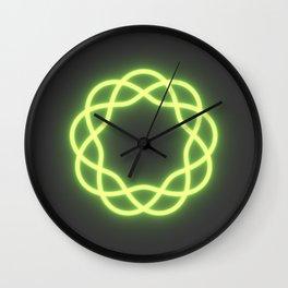 Hanayama Cast Coaster Pattern Wall Clock