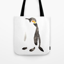 Minimalist Penguin Tote Bag